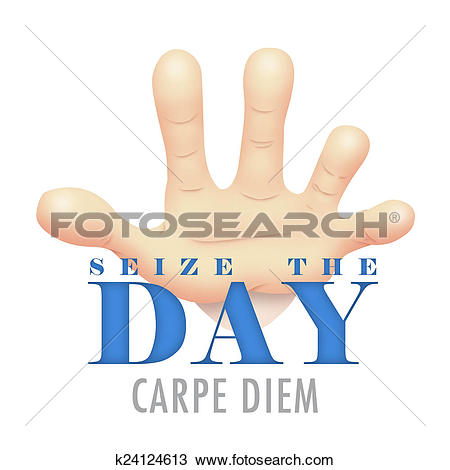 Drawing of Seize The Day k24124613.