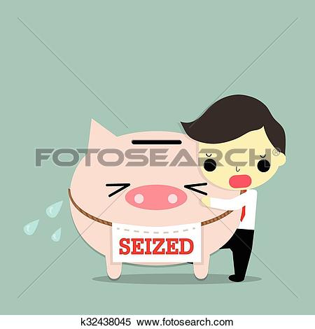 Clipart of seize property k32438045.