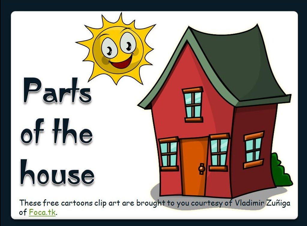 Parts Of A House Clipart Clipground