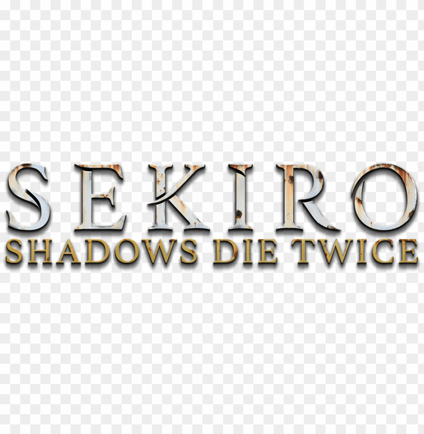 sekiro shadows die twice logo PNG image with transparent.