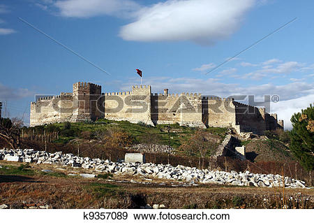 Stock Photograph of Selcuk castle k9357089.