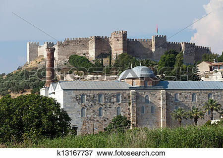 Picture of The grand fortress of Selçuk on Ayasoluk Hill k13167737.