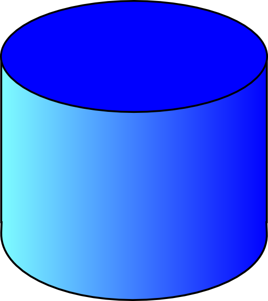 Clipart Cylinder 3d.