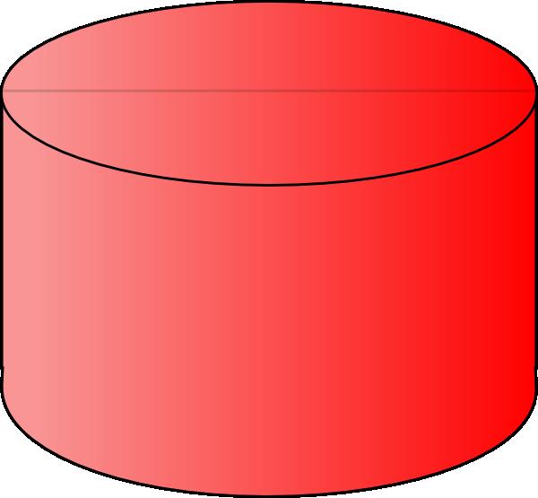 Red Cylinder Clip Art at Clker.com.