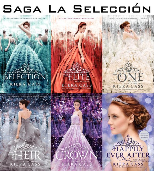 The Selection Series on Twitter: