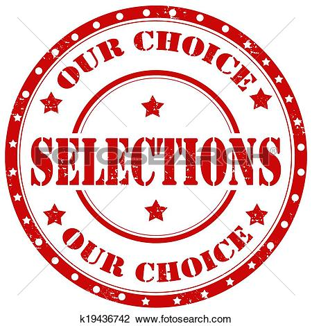 Clipart of Selections.