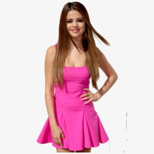Selena Gomez Choice Awards Pink Fit Flare.