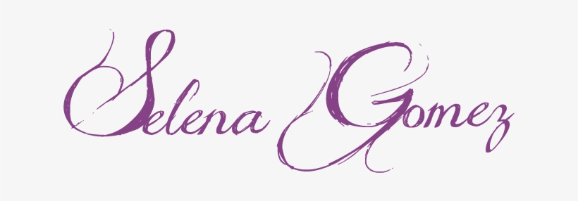 Selena Gomez Logo.