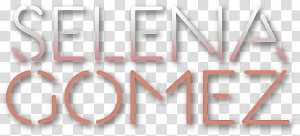 Logos, Selena Gomez text on blue background transparent.