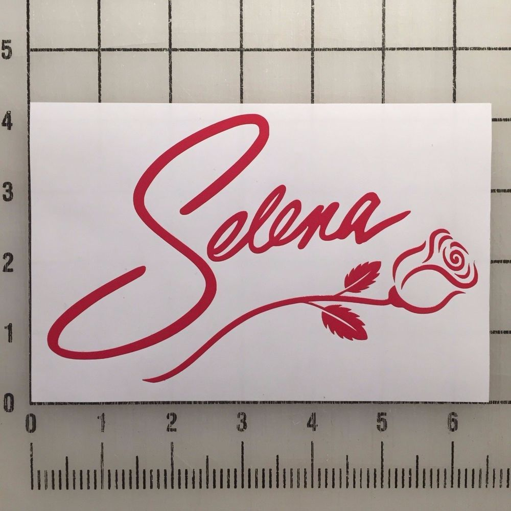 Selena Quintanilla Vinyl Decal Sticker 6\