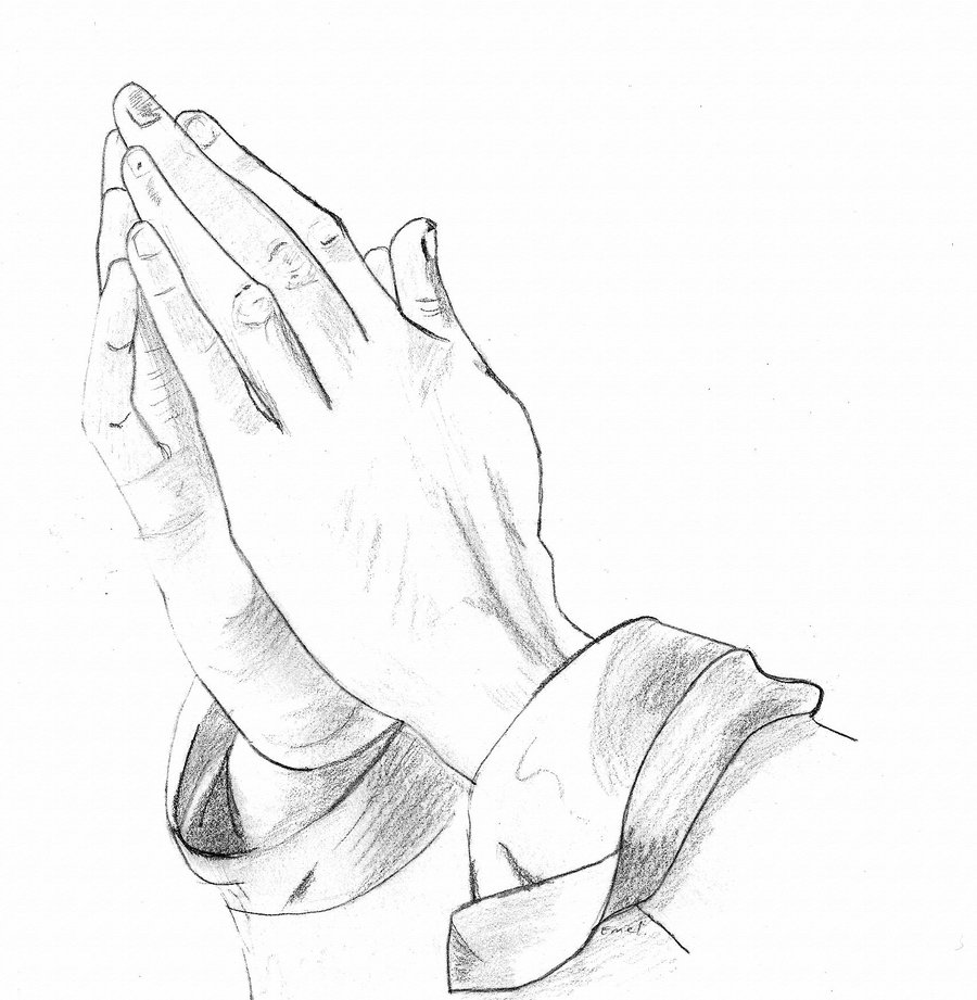 Clip Art Of Someone Praying Clipart.