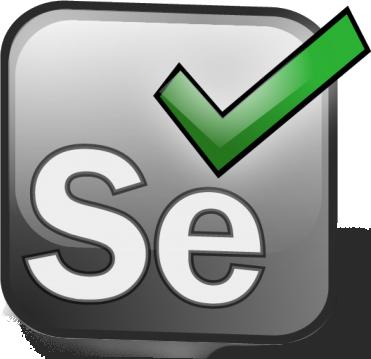 Selenium logo.