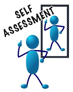 Assessment clipart self assessment, Assessment self.