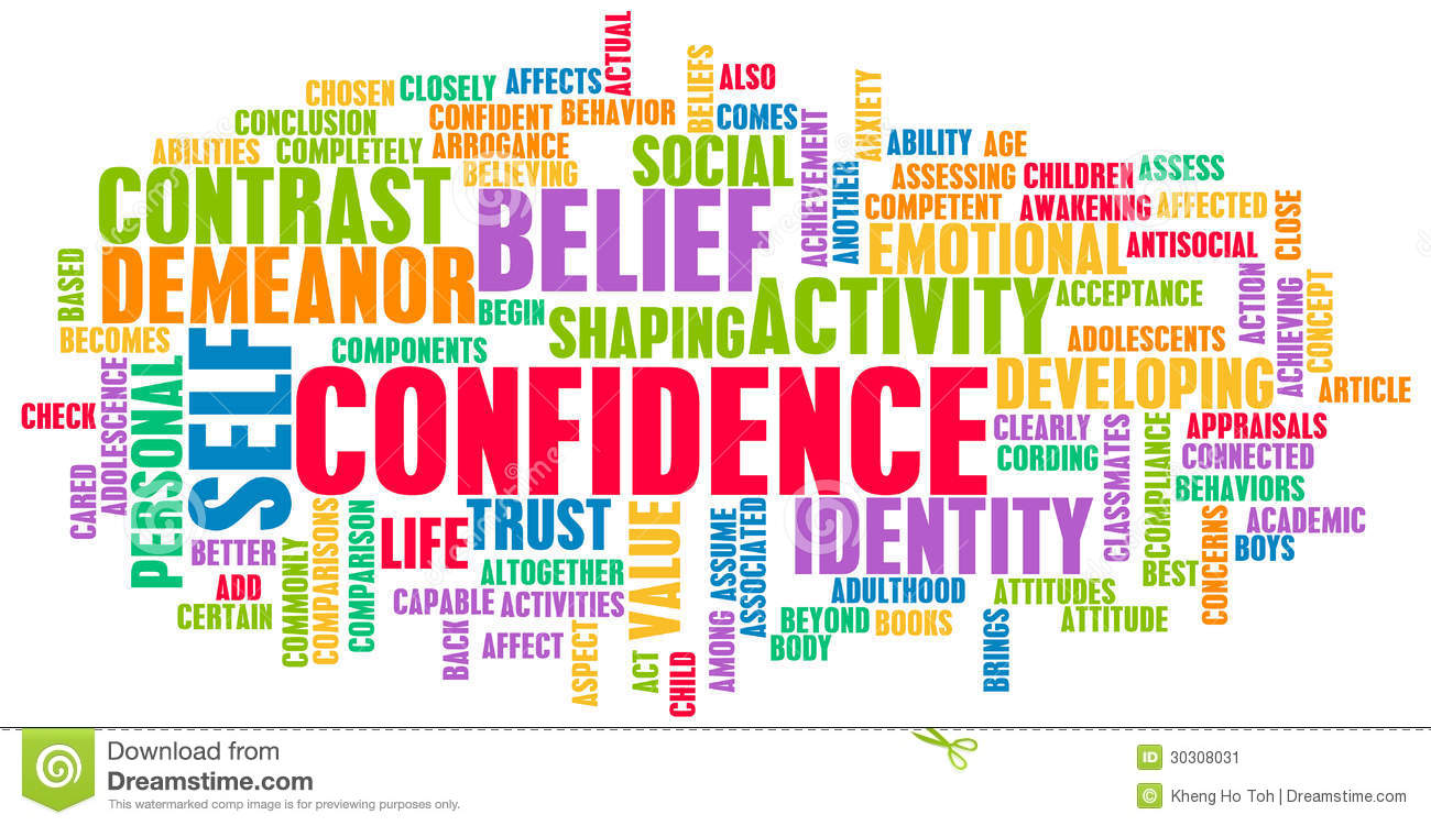 Confidence Stock Image.