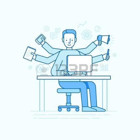 293 Self Employed Stock Illustrations, Cliparts And Royalty Free.