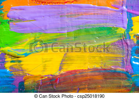Stock Illustration of Abstract art backgrounds. Hand.