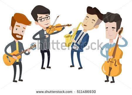 Musicians Stock Photos, Royalty.