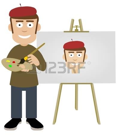 Self Portrait Painting Stock Photos Images. Royalty Free Self.
