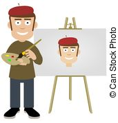 Self portrait Clipart and Stock Illustrations. 3,030 Self portrait.