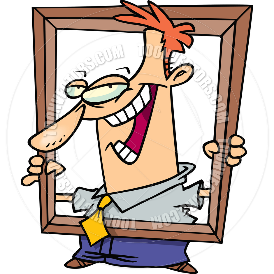 Self portrait clipart.