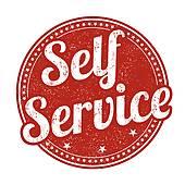 Self Service Clipart.