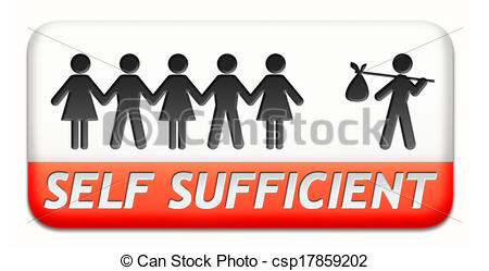 Self sufficient Clipart and Stock Illustrations. 77 Self.