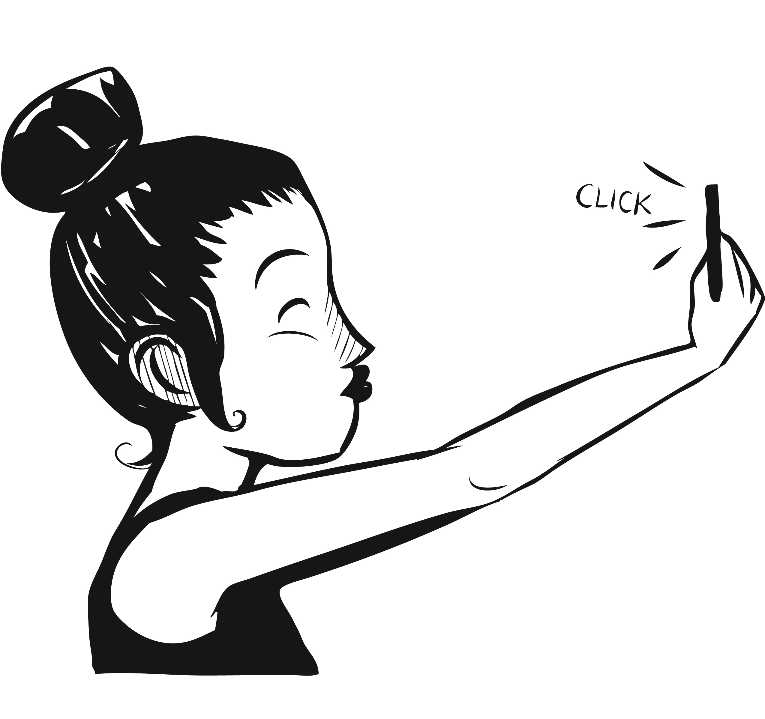 Selfie Drawing.