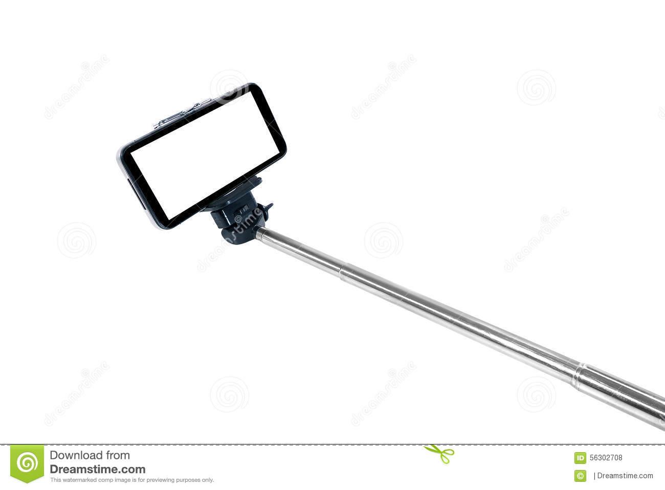 Selfie Stick Clipart.