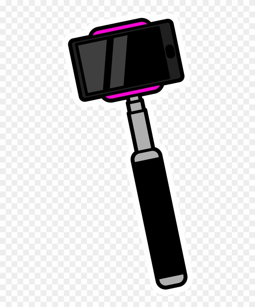 Selfie Stick Clipart (#3038441).