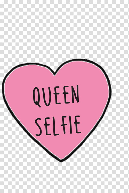 OVERLAYS S, queen selfie text transparent background PNG.