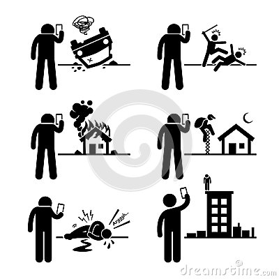 Selfish Man Not Helping The Friend Stock Vector.