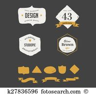 Self made Clip Art Illustrations. 670 self made clipart EPS vector.