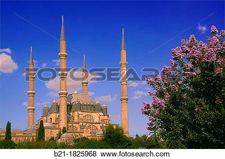 Pictures of Selimiye Mosque (Selimiye Camii) Ottoman mosque in the.