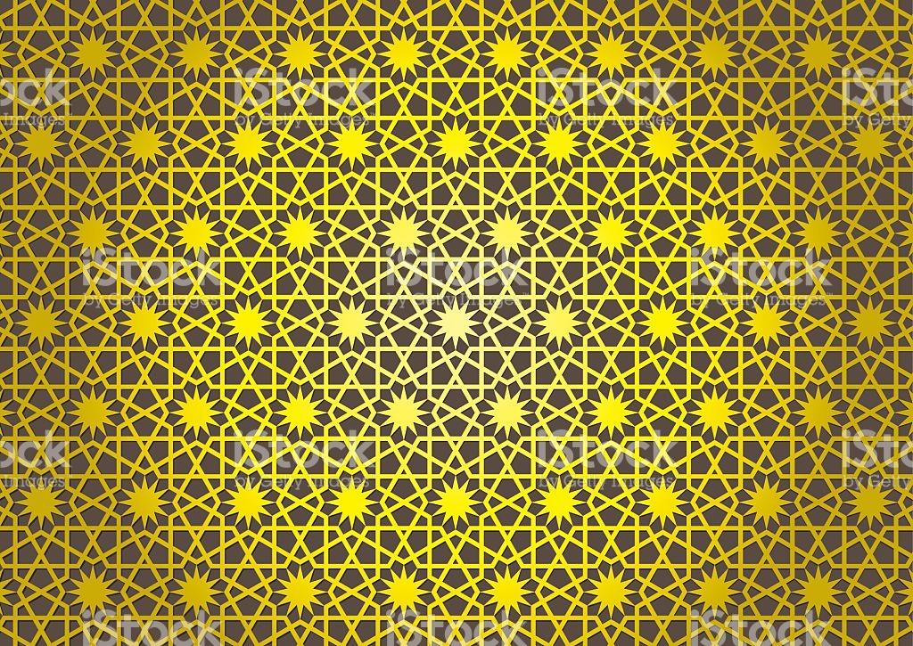 Seljuk Star Rose stock vector art 92909333.