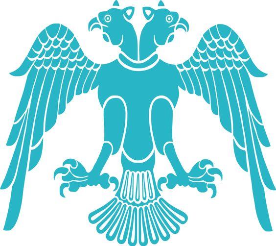 Chift Bashly Qartal Symbol of Oghuzes, founders of the Ottoman.