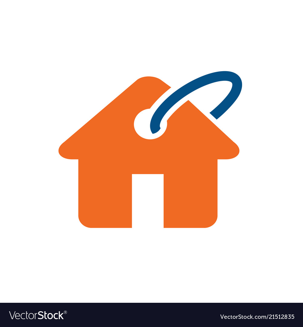 Home buy sell or rent logo icon.