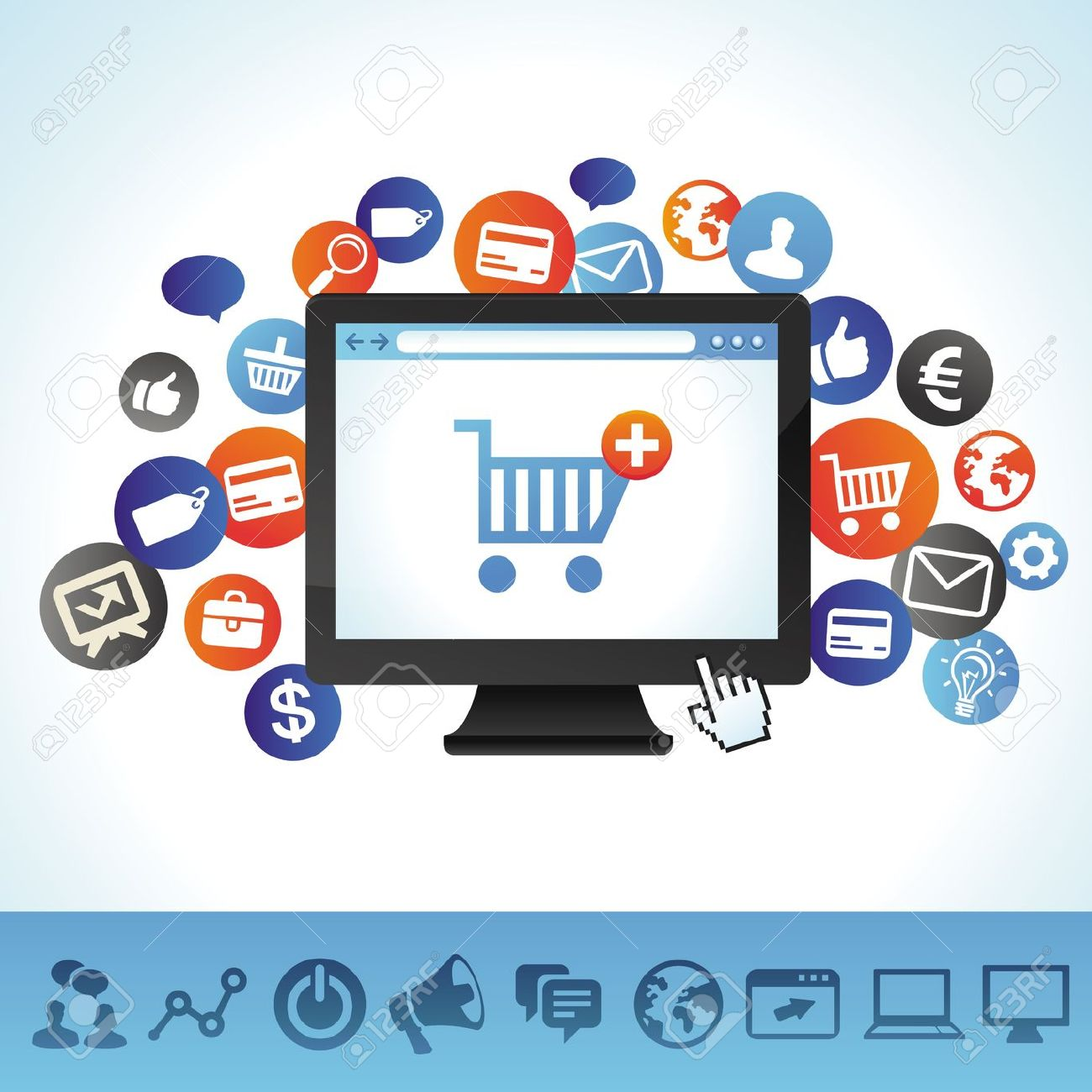 Sell Clipart Online.