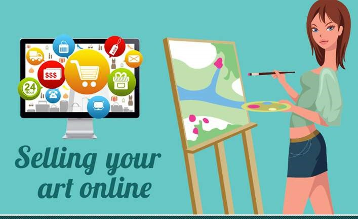 10 Ways to Make Money by Selling Your Art Online.