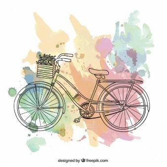 Sella a una bicicletta, cartolina d'epoca.
