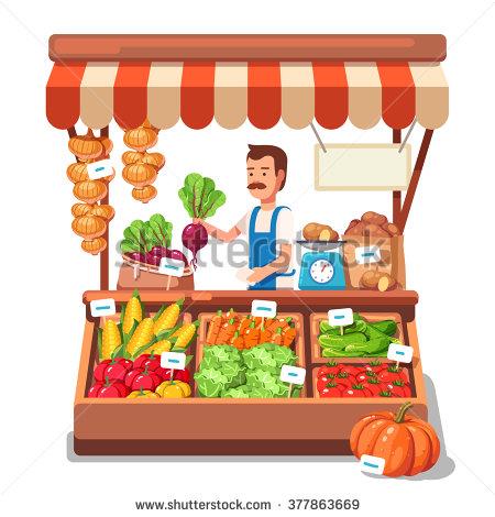 Farmers Market Vegetables Stock Photos, Royalty.