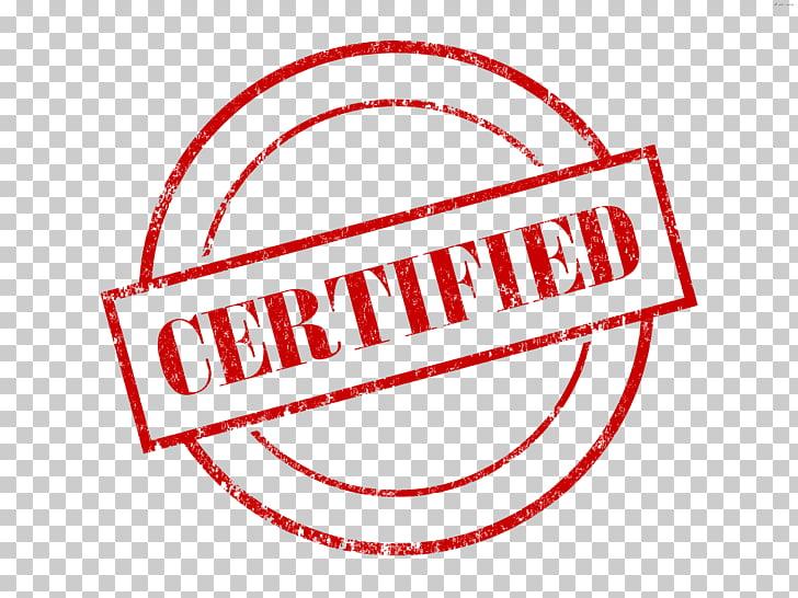 Logotipo certificado, marca del patrón del texto del.