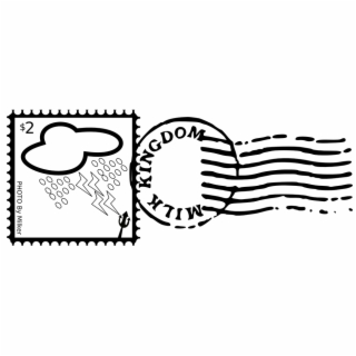 Sello Postal Vector Png.