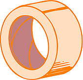 Clipart of Adhesive tape k13259153.