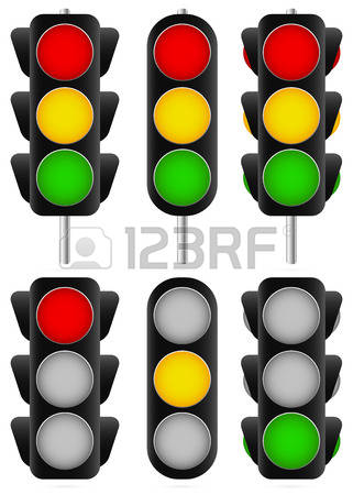 3,545 Traffic Semaphore Stock Vector Illustration And Royalty Free.