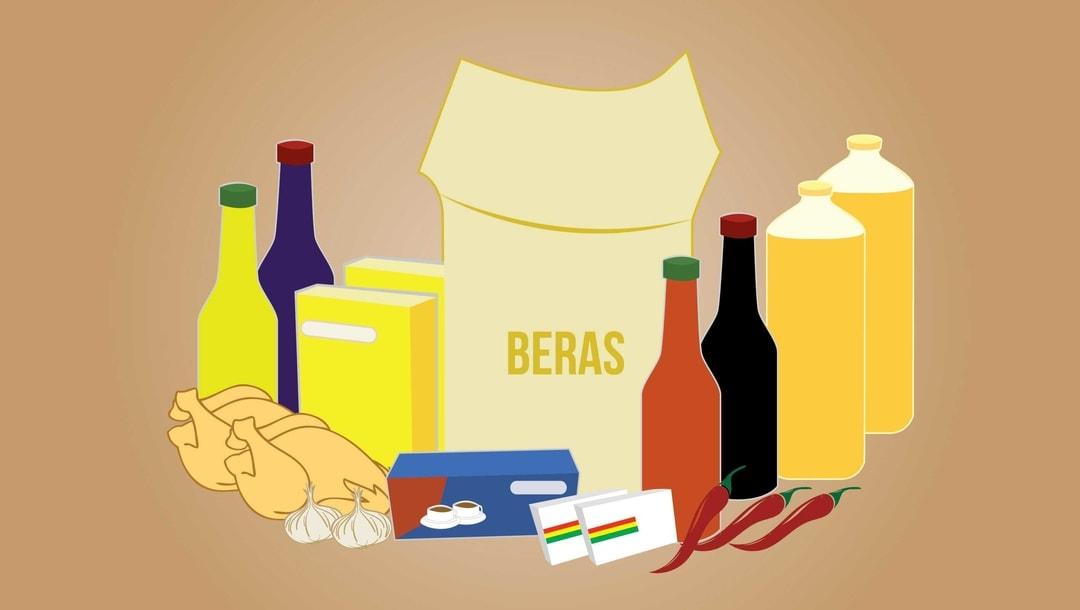 12 Ribu Paket Sembako Disiapkan Untuk Pasar Murah di 19.