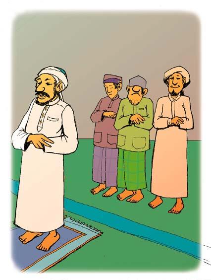 Pendidikan Islam KSSR Tahun 2 Ibadah : Mengamalkan solat : Info.