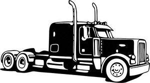 51+ Semi Truck Clipart.