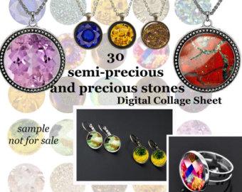 Gemstone clip art.