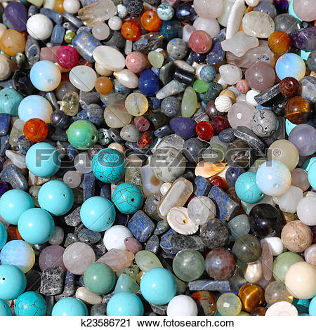 Stock Photography of Semi precious stones k23586721.