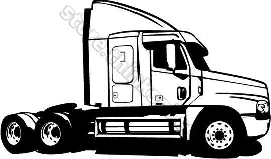 Semi trailers clipart - Clipground